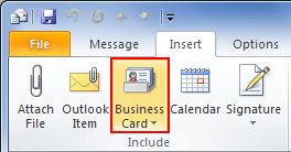 insert-business-card