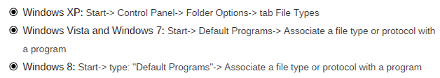 modify-default-program