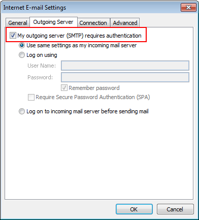 server require authentication